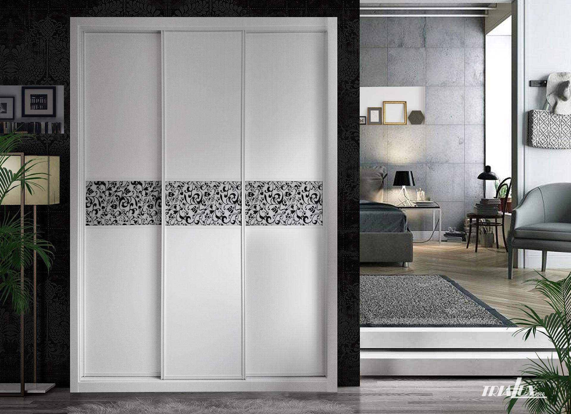 Armario de puertas decorativas Trialux2000